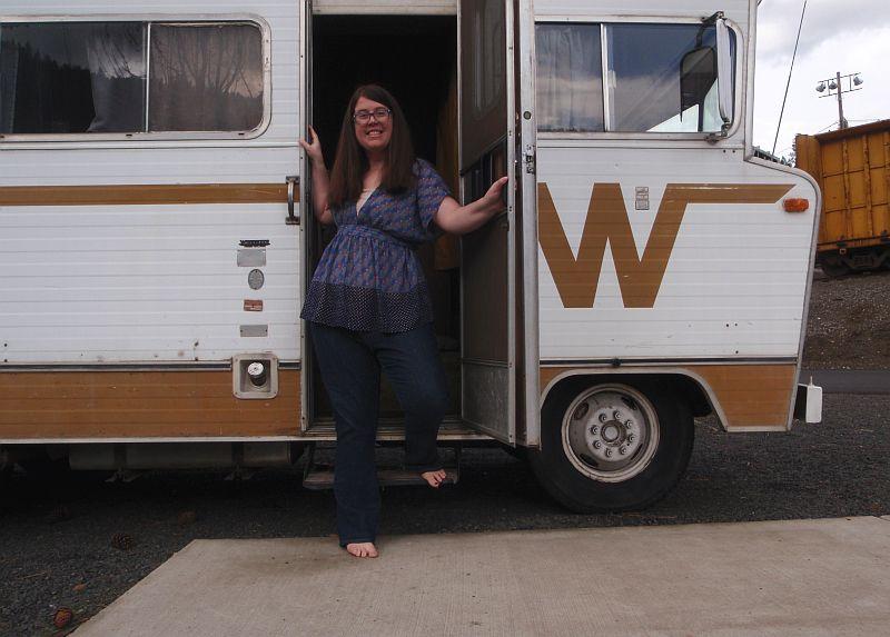 Somewhere, Idaho | Living small in a vintage 1973 Winnebago